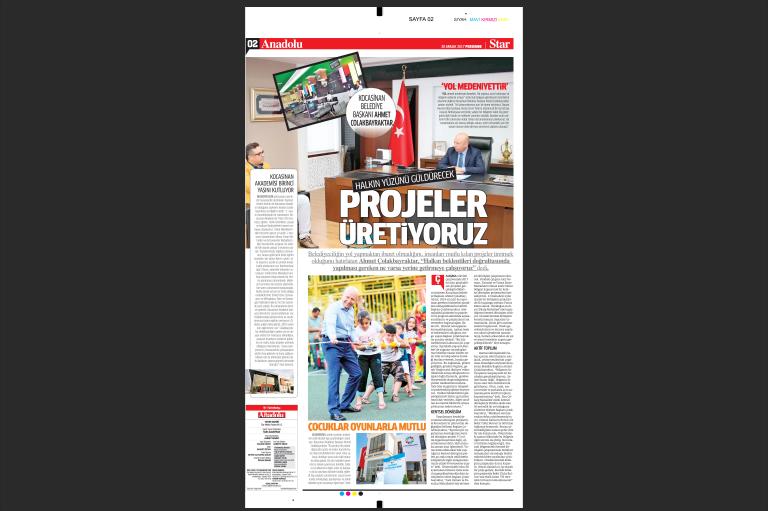 Star Gazetesi Aralık Ayı Anadolu Eki