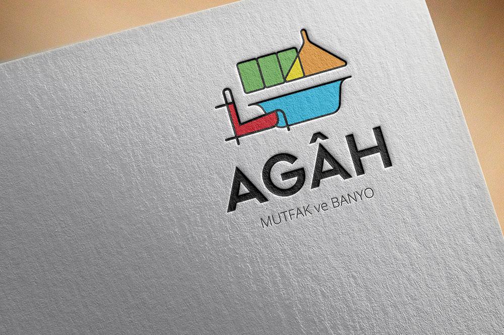 Agah Mobilya Logo Tasarımı